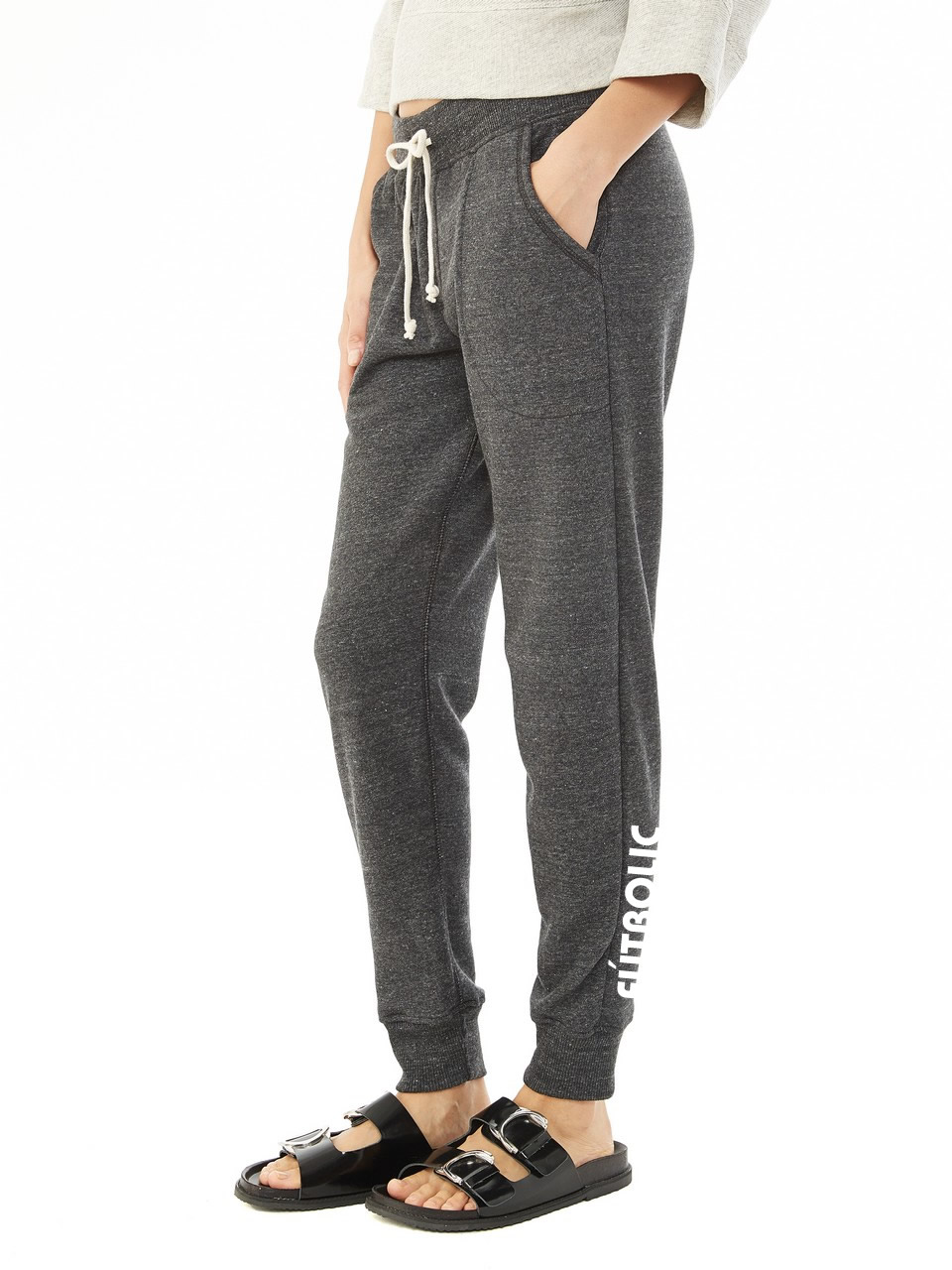 Eco-Fleece Jogger Pants Eco Black
