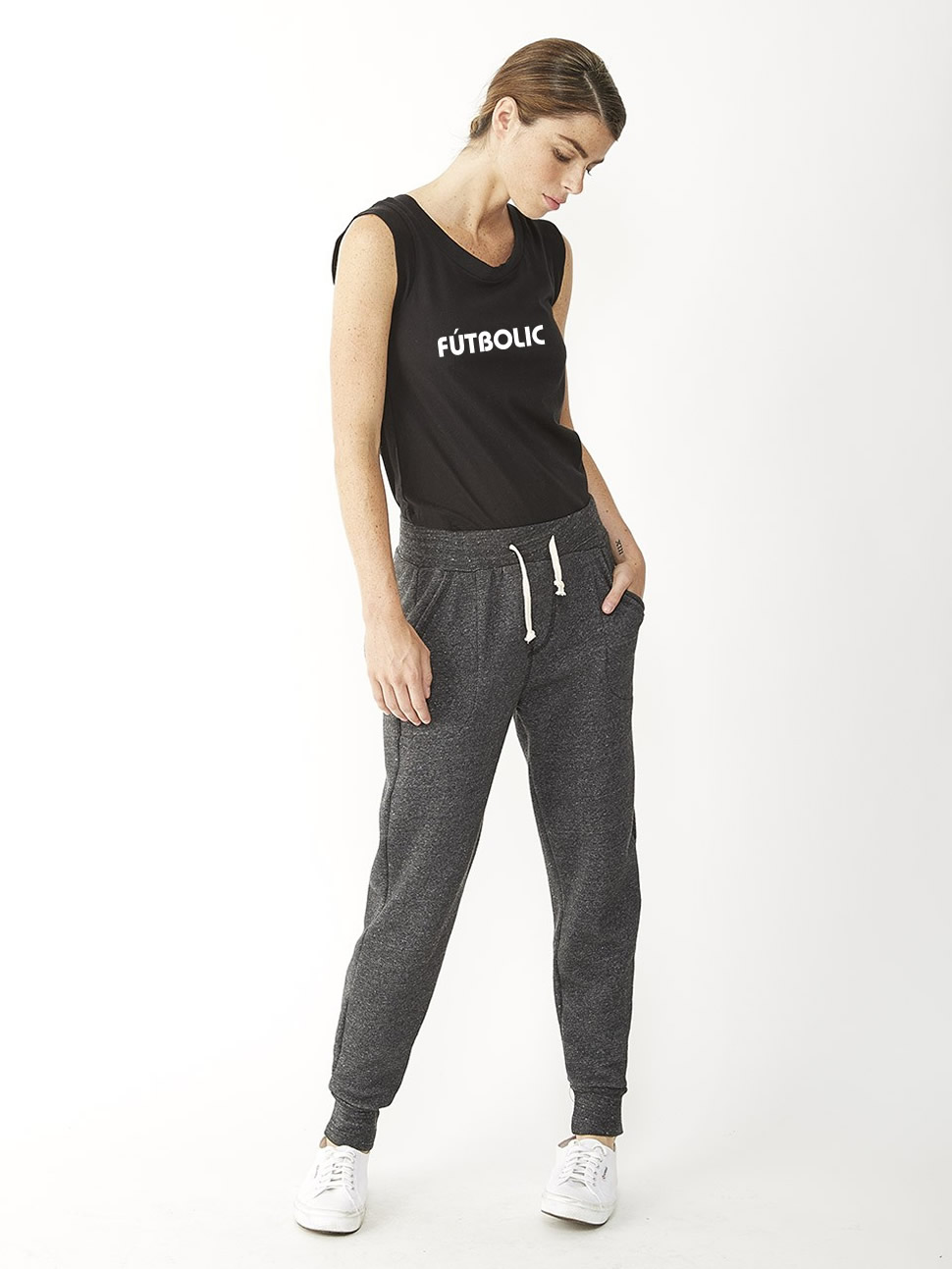 Eco-Fleece Jogger Pants Eco Black2