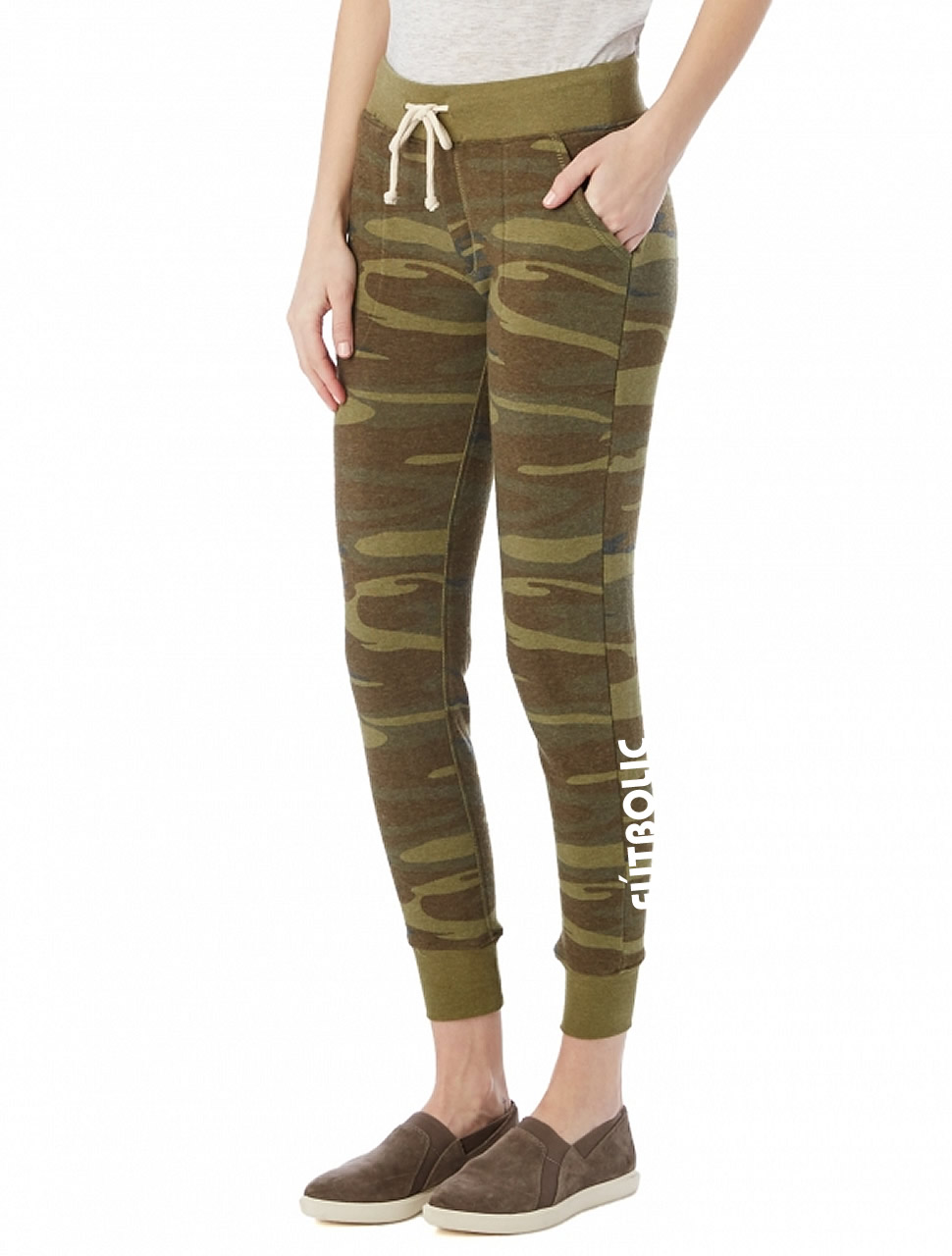 Eco-Fleece Jogger Pants Eco Camo
