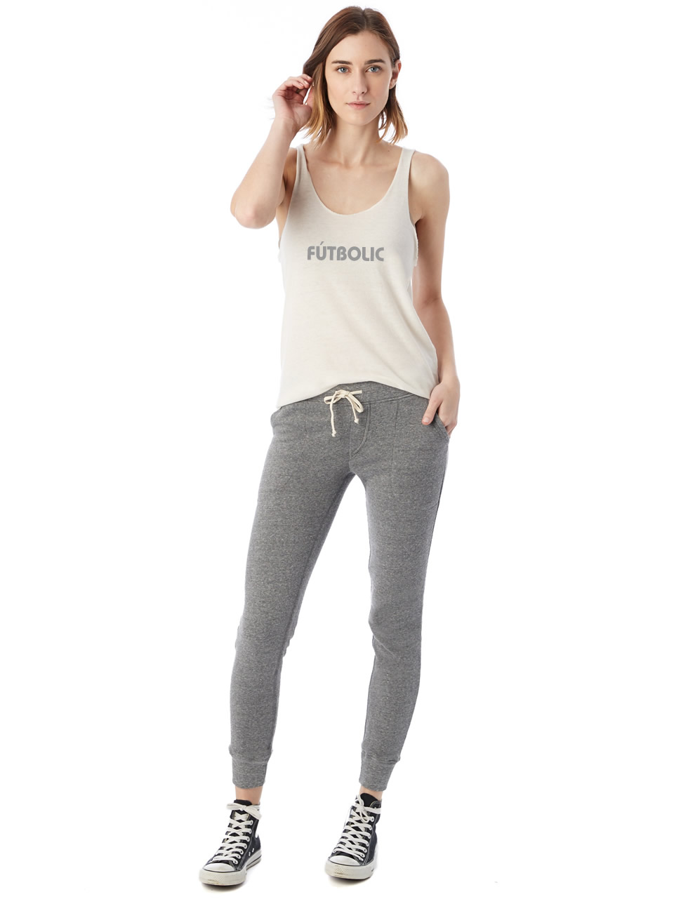 Eco-Fleece Jogger Pants Eco Grey2