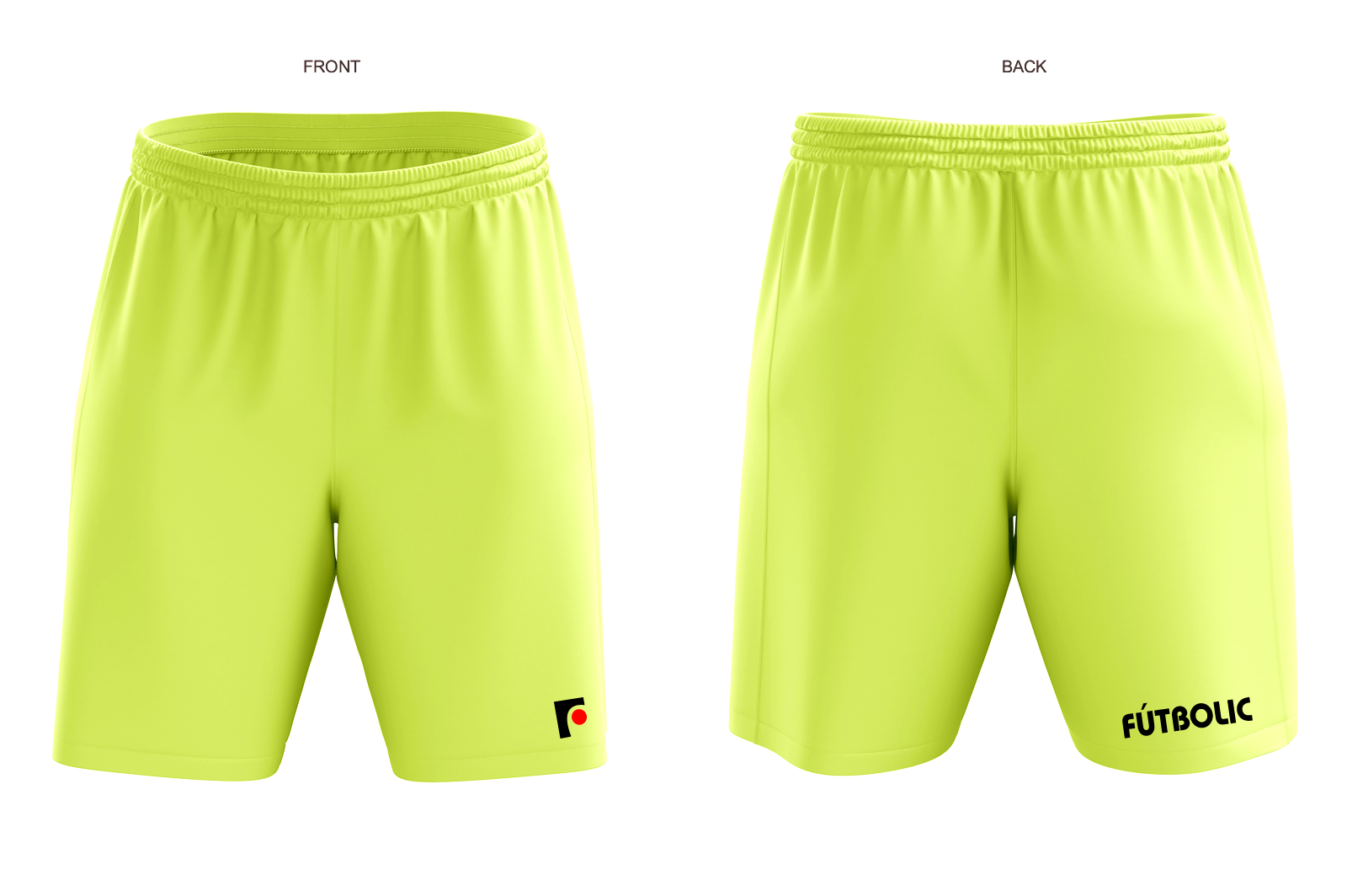 FBpants Neon Yellow